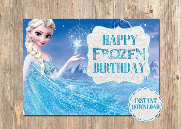 frozen-birthday-card