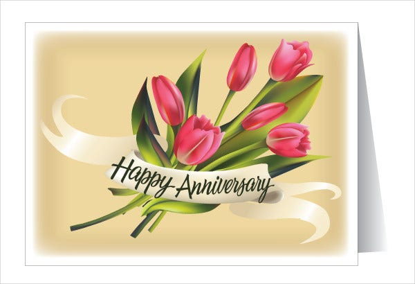 -Anniversary Greeting Card