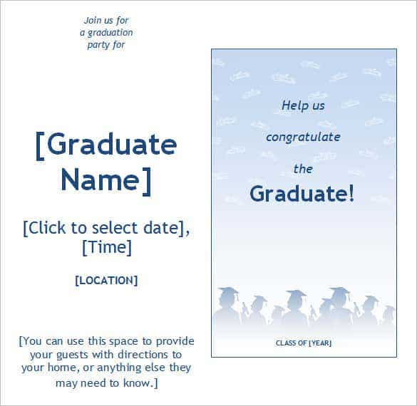 graduation party invitation template min