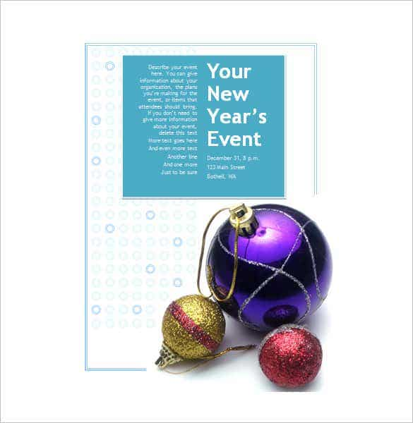 microsoft word invitation templates christmas min
