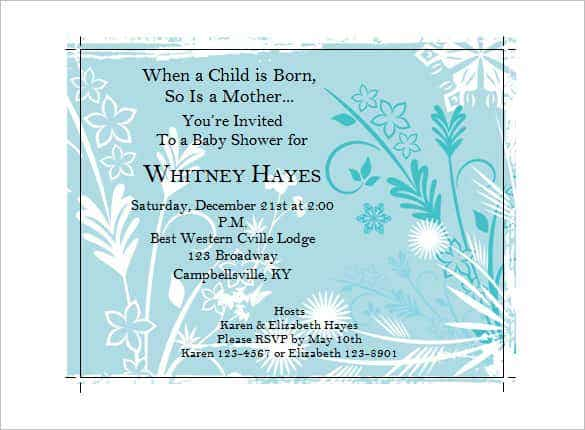 baby shower function invitation min