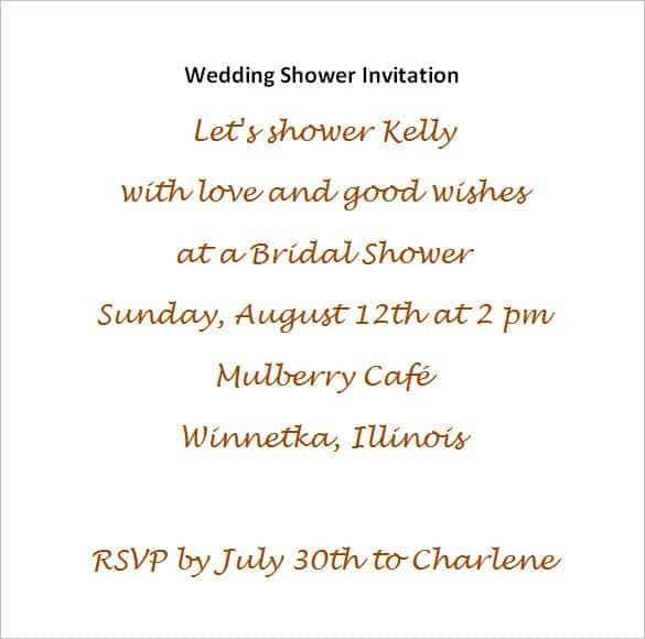 54 microsoft invitation template free samples examples bridal shower invite card stopboris Gallery