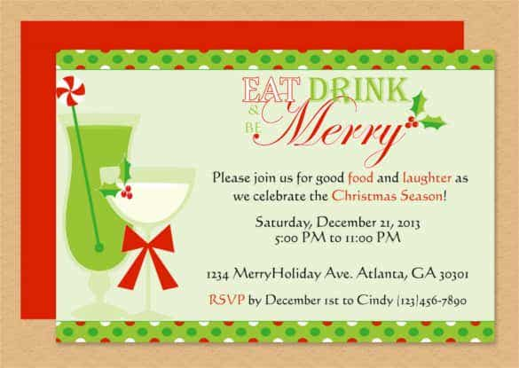 merry invitation editable template microsoft word format min