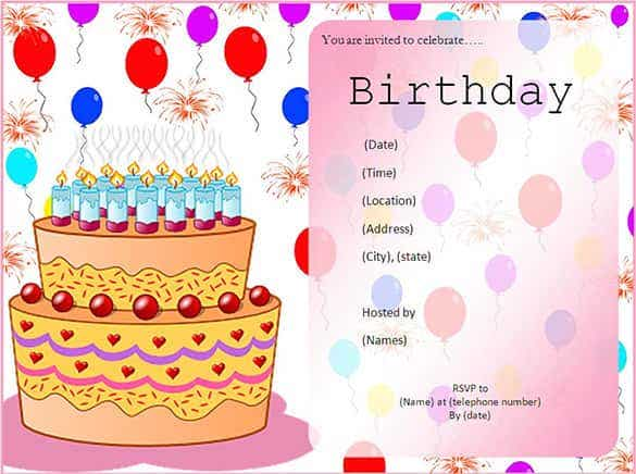 kids birthday invitation template min