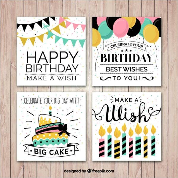 free birthday greeting card