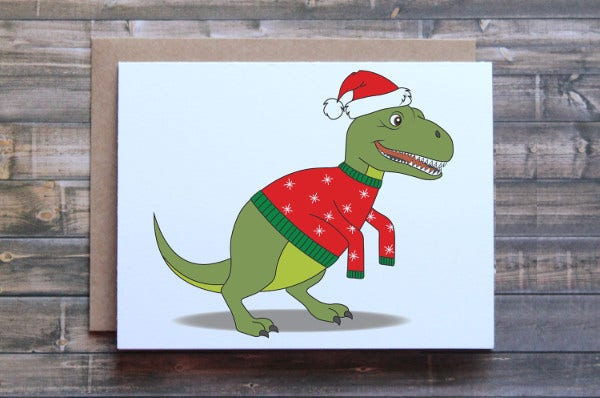 -Funny Christmas Card