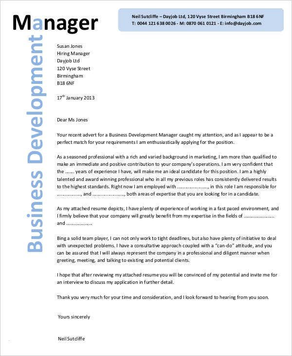 32  business letter template