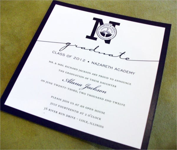college graduation invitation wording2