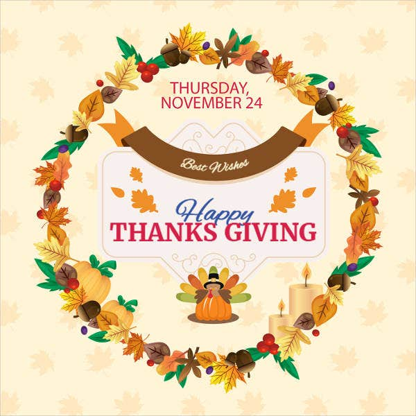free thanksgiving place card