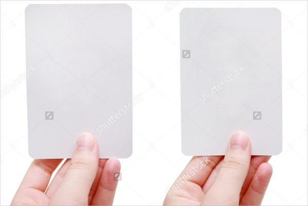 Blank Flash Card