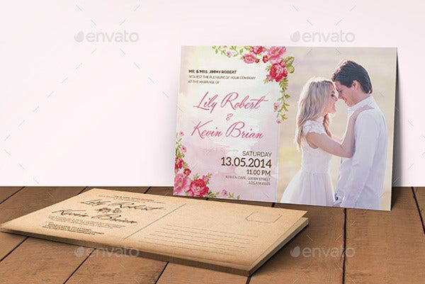 -Wedding Reception Card