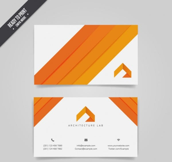 Architect Visiting Card