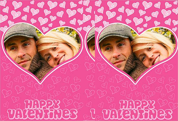 free photo valentines card