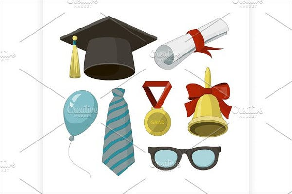 graduation black hat invitation