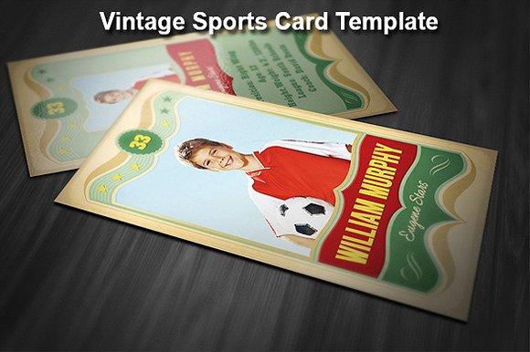 vintage baseball card