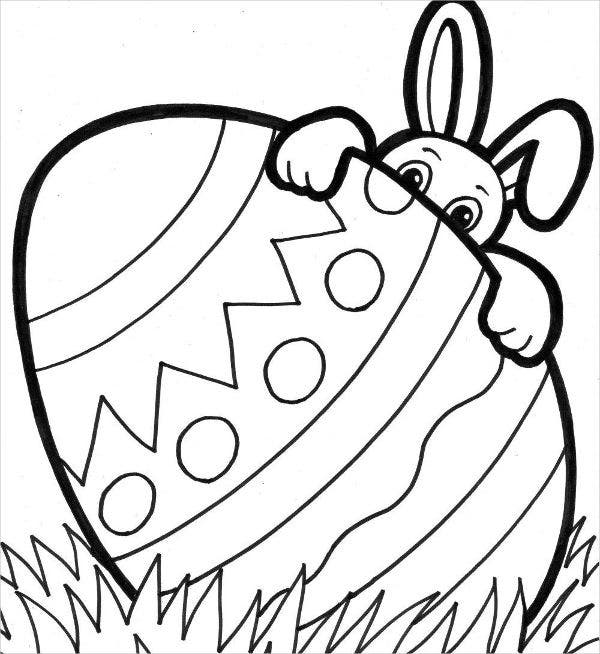 -Easter Coloring Card