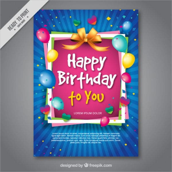 free birthday greeting card1