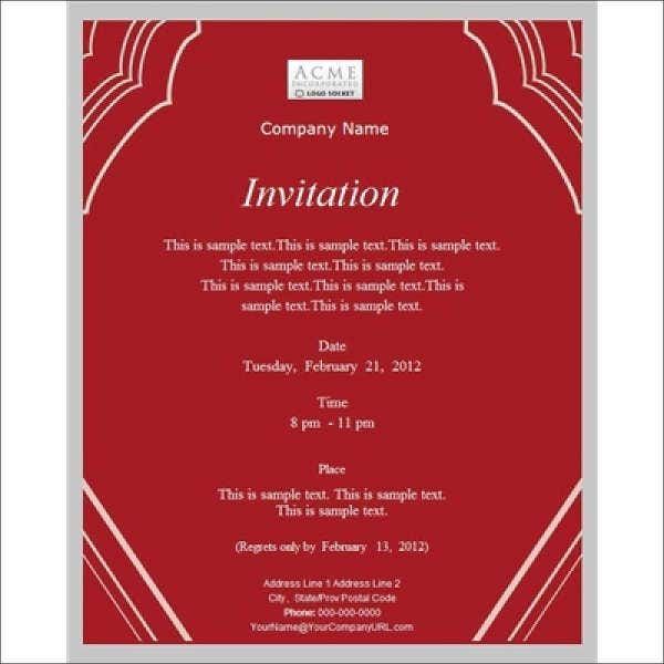 business invitation template koni polycode co