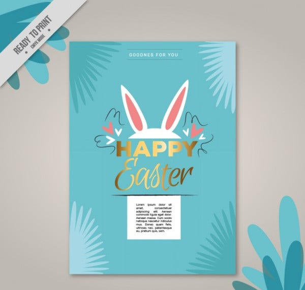 easter bunny card1