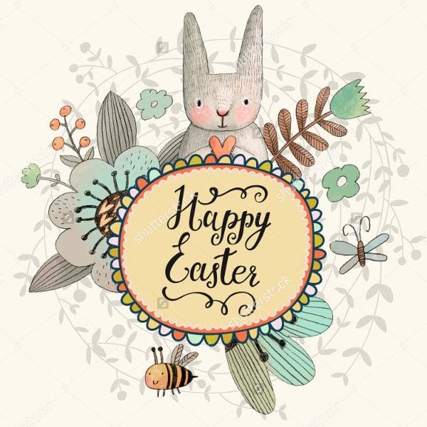 Easter Vintage Card