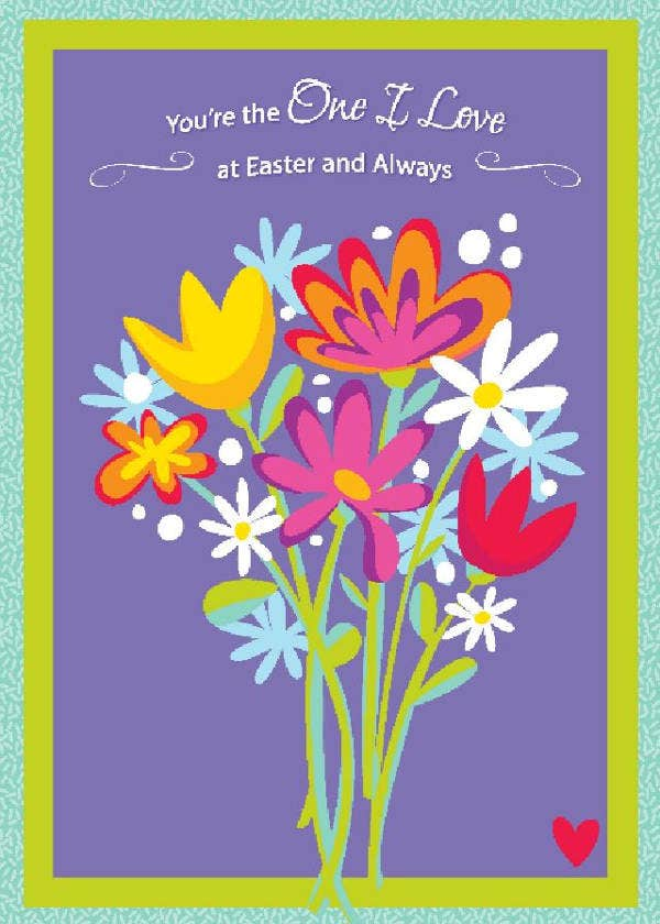 Easter Love Card