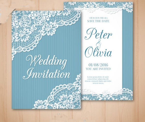 vintage wedding invitation cards