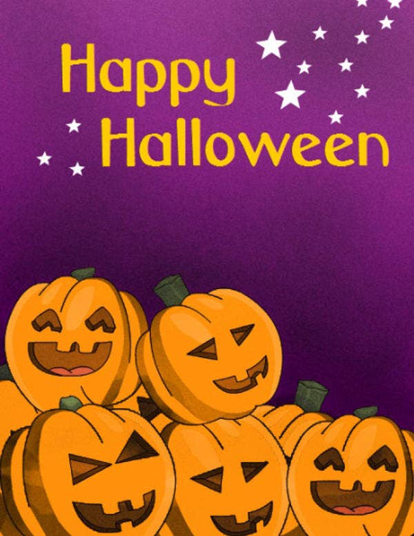 Printable Halloween Card