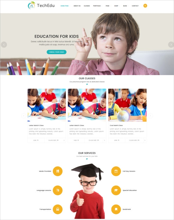 awesome-design-for-education-wordpress-theme