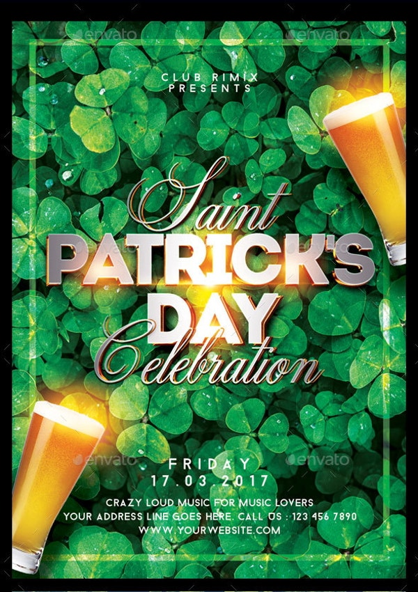 st-patricks-day-psd-poster
