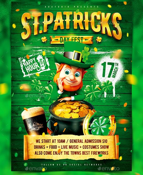 st-patricks-day-festival-poster