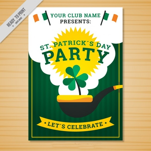 flat-st-patricks-day-poster