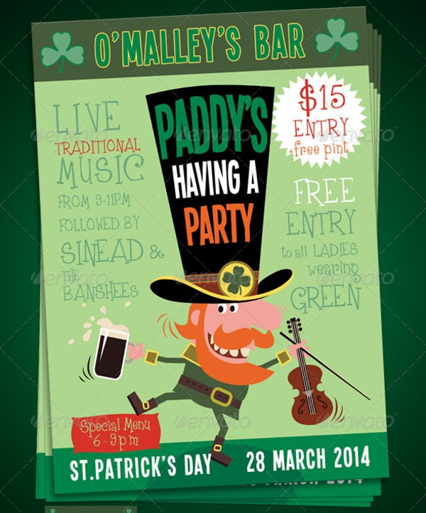 st-patricks-event-poster-template
