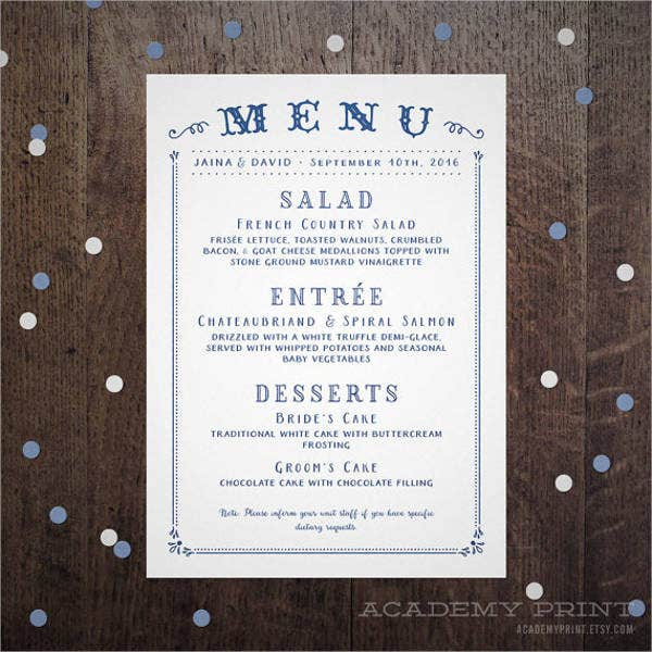 wedding-buffet-menu-cards