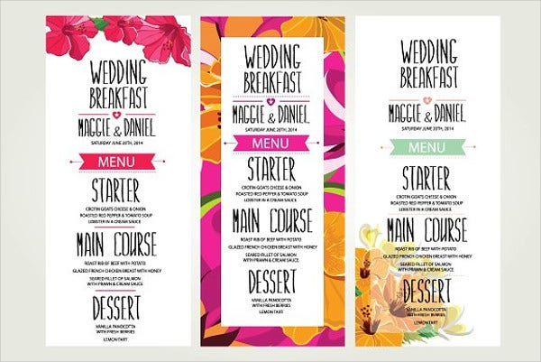 wedding-dinner-menu-cards