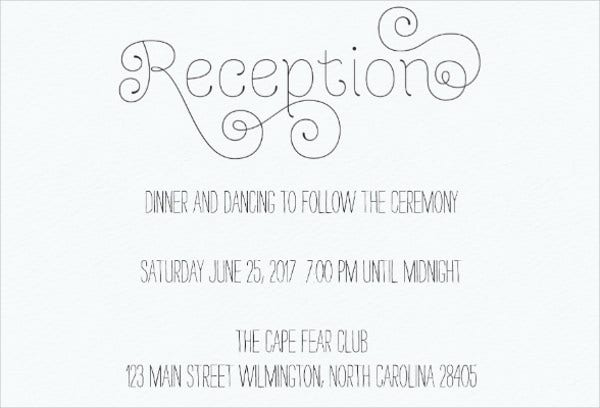 wedding-reception-card-wording