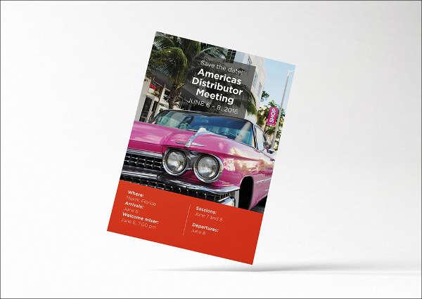 sample formal meeting invitation design
