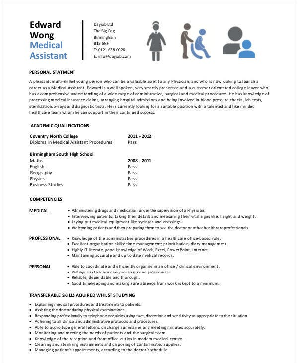 Modern Medical Assistant Resume