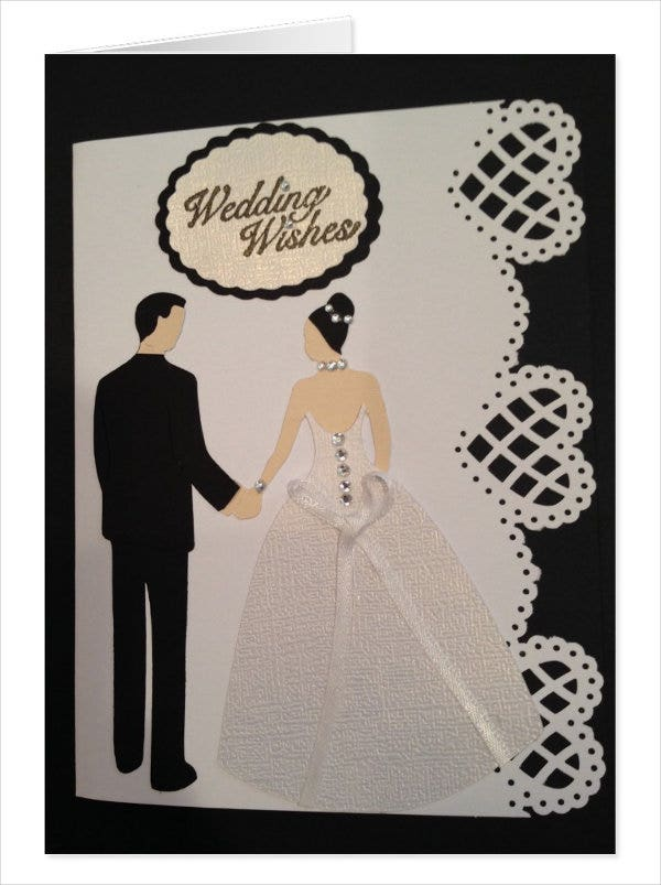 handmade traditional wedding cards