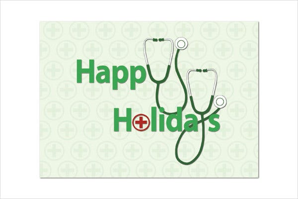 holiday medical card