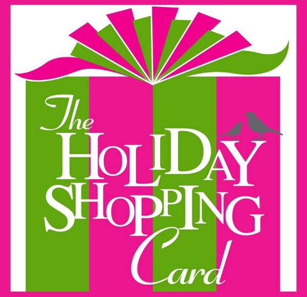 -Holiday Shopping Card