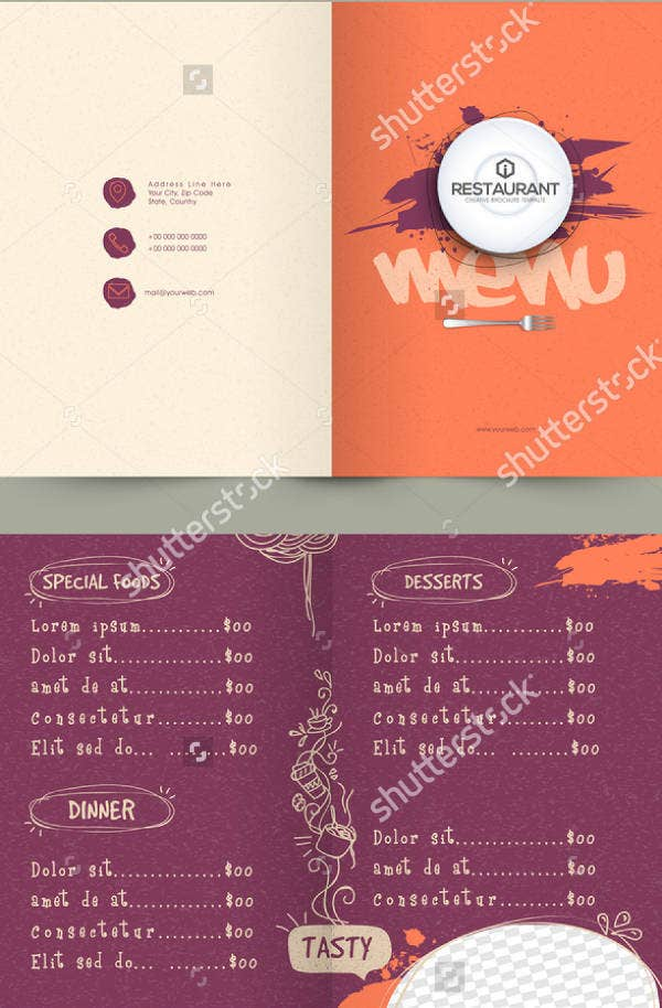 Creative Menu Card