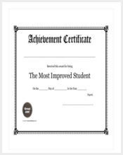 student-achievement-award-template