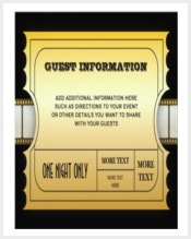 annual-movie-awards-party-golden-ticket-insert-paper-invitation-card