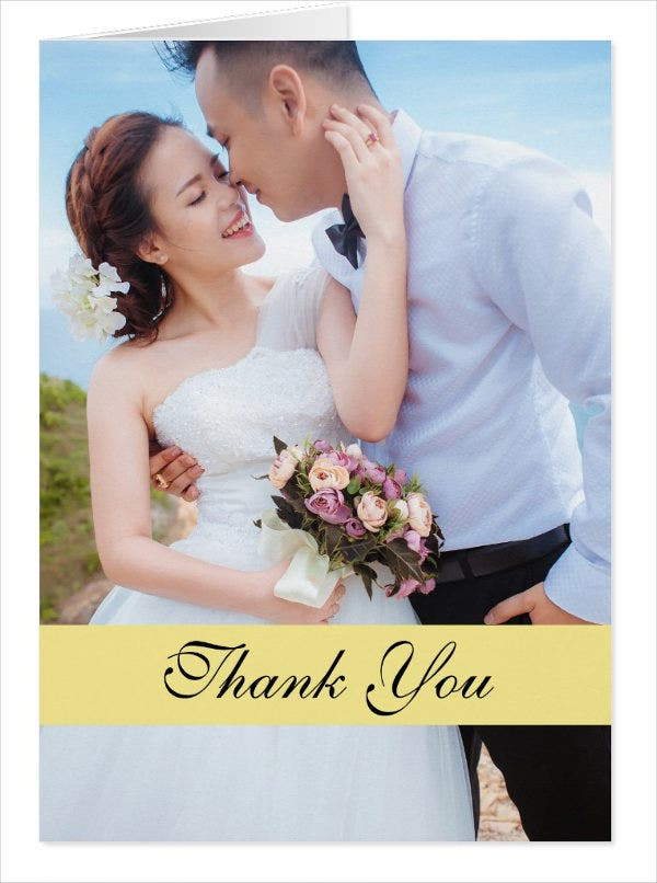 diy thank you wedding cards1