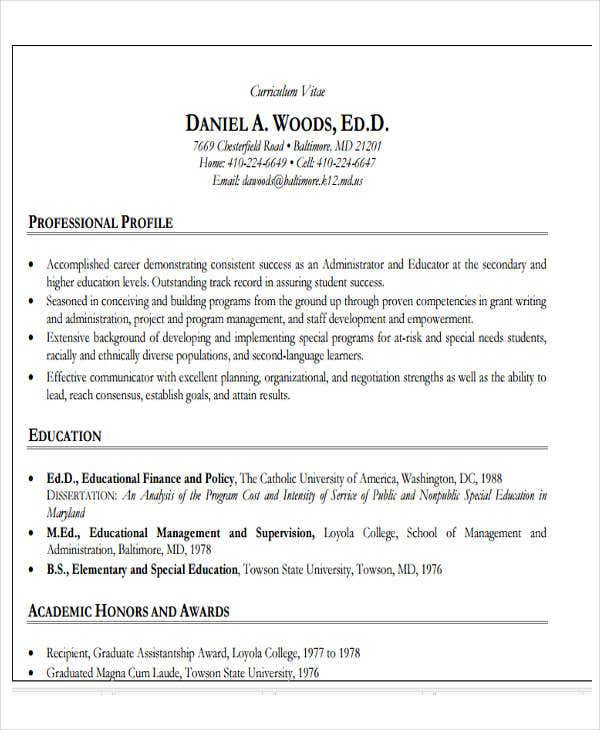 30 Teacher Resume Templates Download – Experienced Teacher Resume