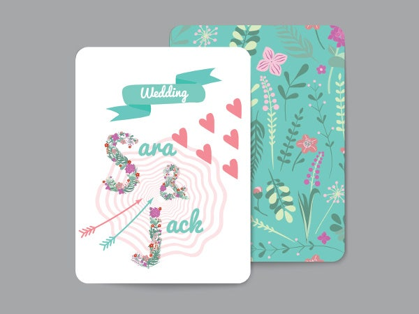 special wedding greeting cards