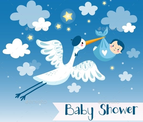 baby shower boy card