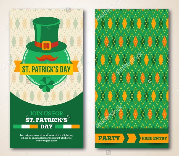 st-patricks-day-party-greeting-card-template