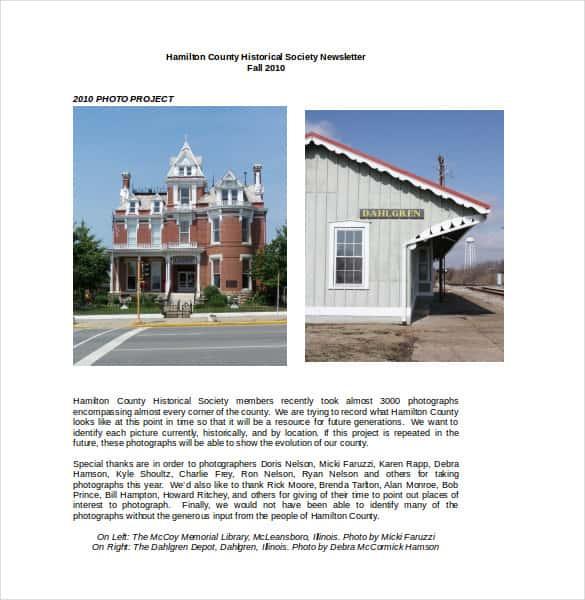 hamilton county historical society newsletter min