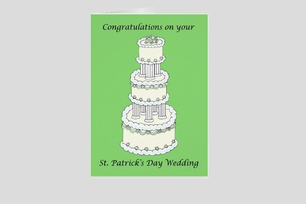 st-patricks-day-wedding-greeting-card
